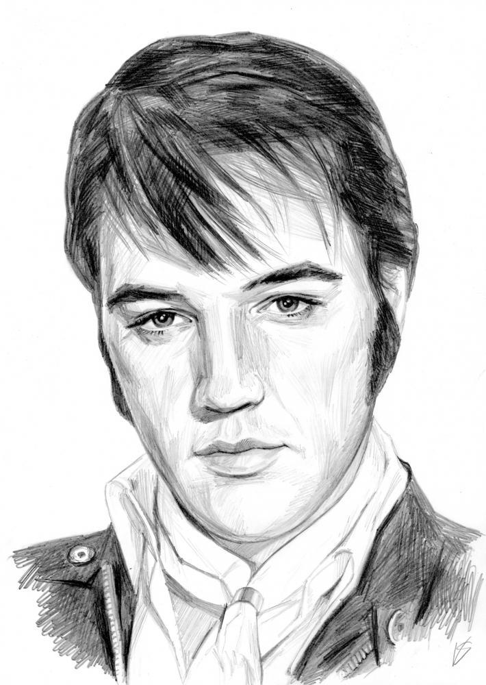 Elvis Presley by Vasilina
